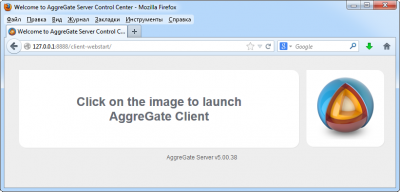 Browser version of AggreGate Client