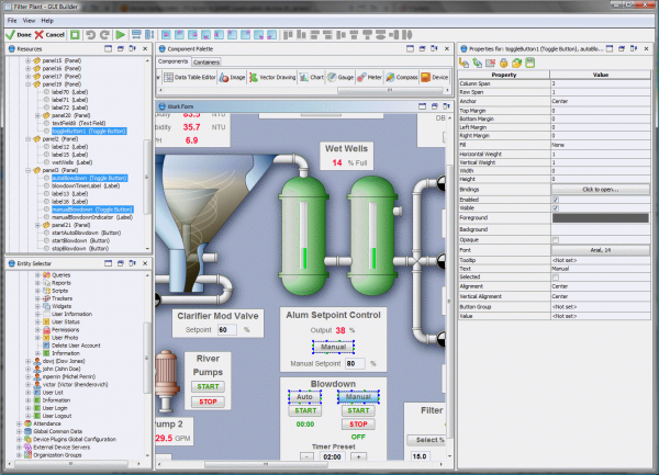 User Interface Editor