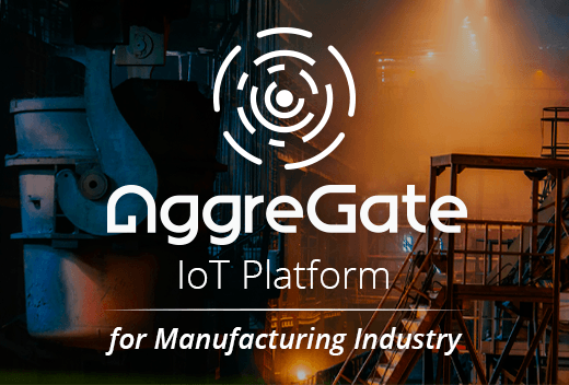 IoT platform for manufacturing industry